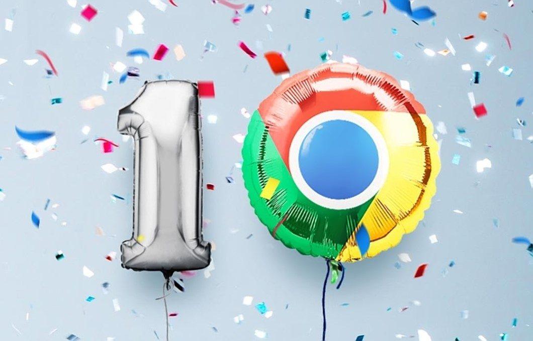 Dez anos - Google Chrome