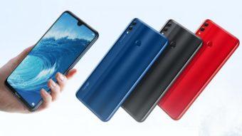 Huawei Honor 8X Max possui tela de 7 polegadas com notch