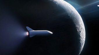 SpaceX vai levar um passageiro em viagem ao redor da Lua