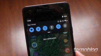 Como ativar o tema escuro no Android 9 Pie