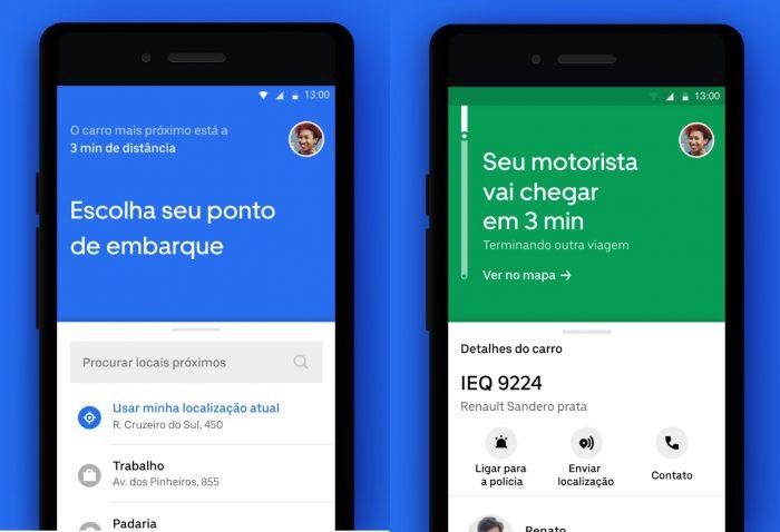 Android / Uber Lite / como pedir uber para outra pessoa