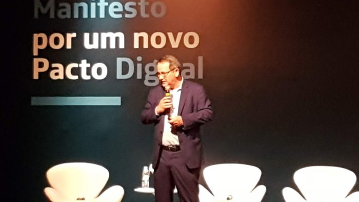 Eduardo Navarro, presidente e CEO da Telefônica Brasil