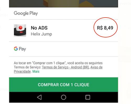 Helix Jump Pago APK no Ads