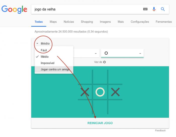 Jogo da Velha - Google