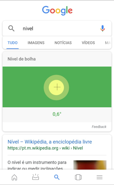 Nivel de Bolha - Google