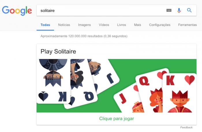 Solitaire - Paciência - Google