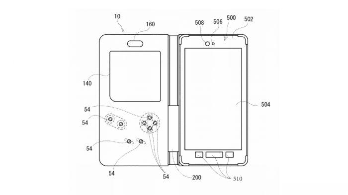Nintendo registra capa de celular que funciona como Game Boy