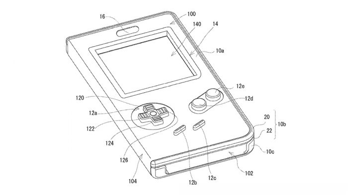 Nintendo faz pedido de patente de capa do Game Boy