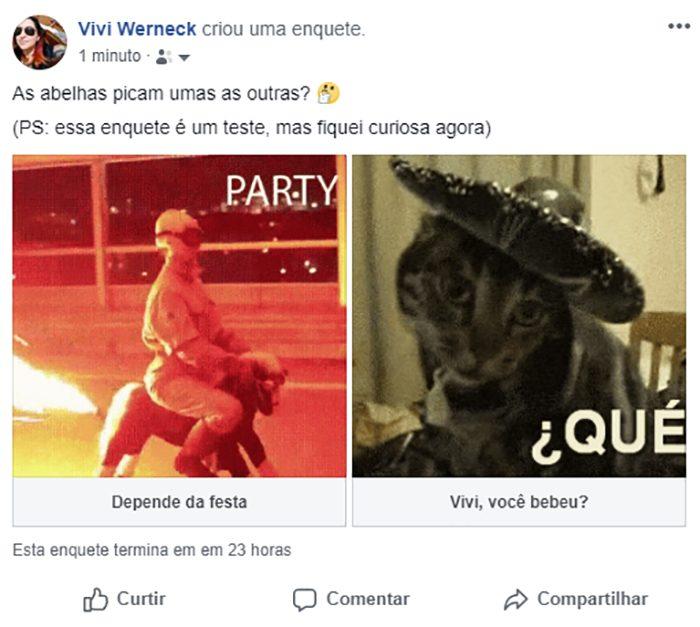 facebook-enquete / Reprodução