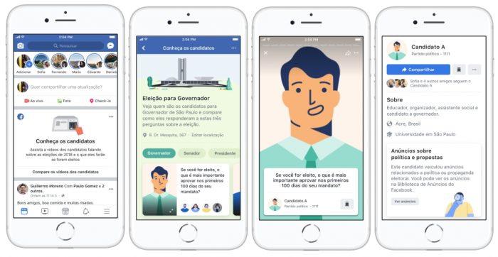 Ferramenta de eleições do Facebook