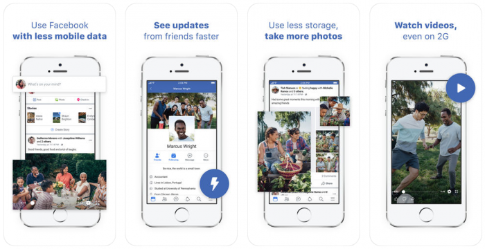 Facebook Lite e Messenger Lite chegam ao iOS, mas não no