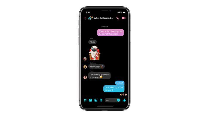Modo Escuro no Facebook Messenger 4