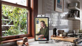 Facebook Portal é um alto-falante inteligente com microfone e câmera para sua casa