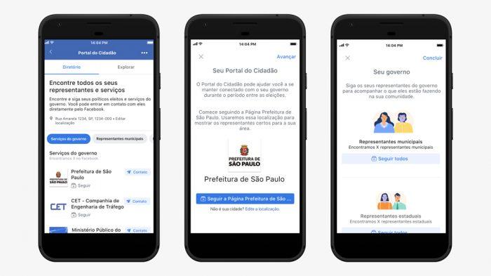 Facebook cria Portal do Cidadão
