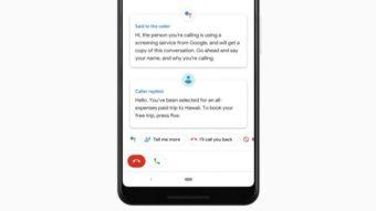 Google Assistente conversa com telemarketing para filtrar ligações de spam