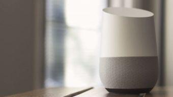 Google Home começa a aceitar comandos de voz em português do Brasil