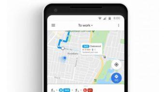 Google Maps terá rotas de ônibus em tempo real em 74 cidades do Brasil