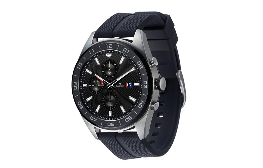 7f694517182d LG Watch W7 é um híbrido de smartwatch com relógio comum