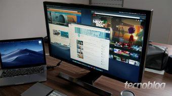 Monitor 4K Samsung UE590: pixels mais acessíveis