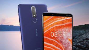 Nokia 3.1 Plus tem Android puro, câmera dupla e preço baixo