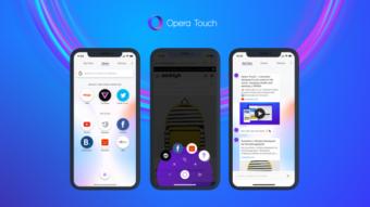Opera Touch ganha versão para iOS e quer tomar o lugar do Safari no seu iPhone