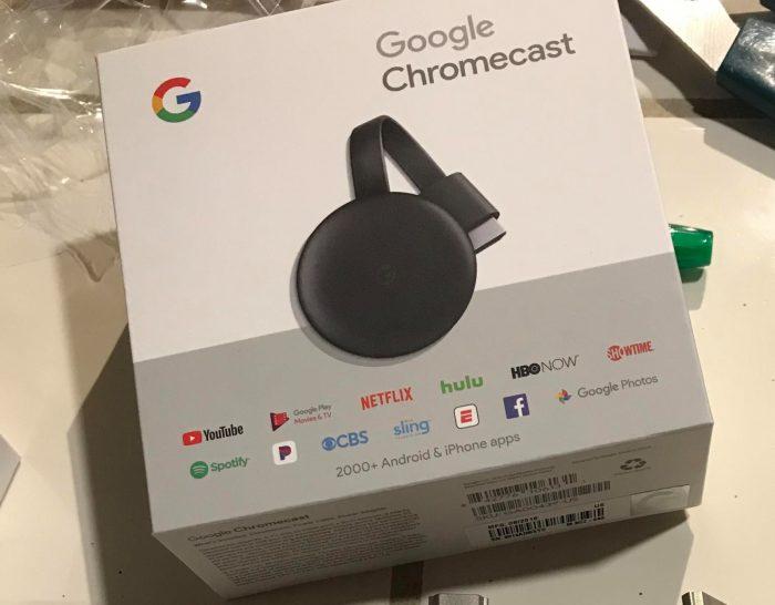 Suposto novo Chromecast