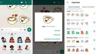 WhatsApp começa a liberar stickers para Android e iOS