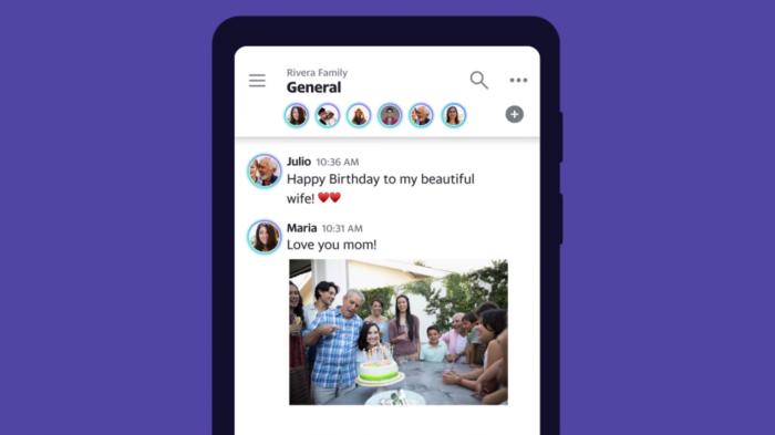 Yahoo Together es un clon de Slack, pero enfocado en grupos familiares 1