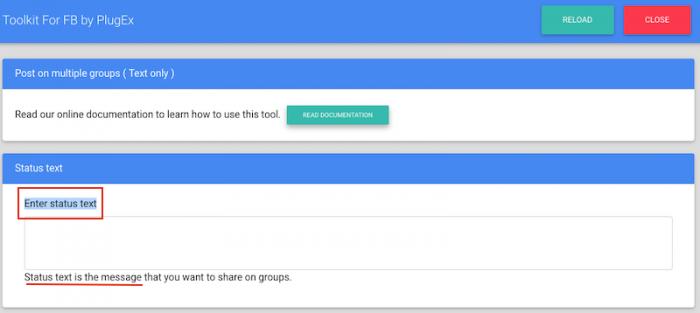 Como publicar em vários grupos ao mesmo tempo 2
