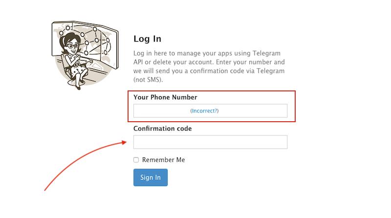 Excluir Telegram
