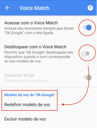 Ok, Google - Voice Match