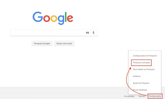 Pesquisa Avançada do Google
