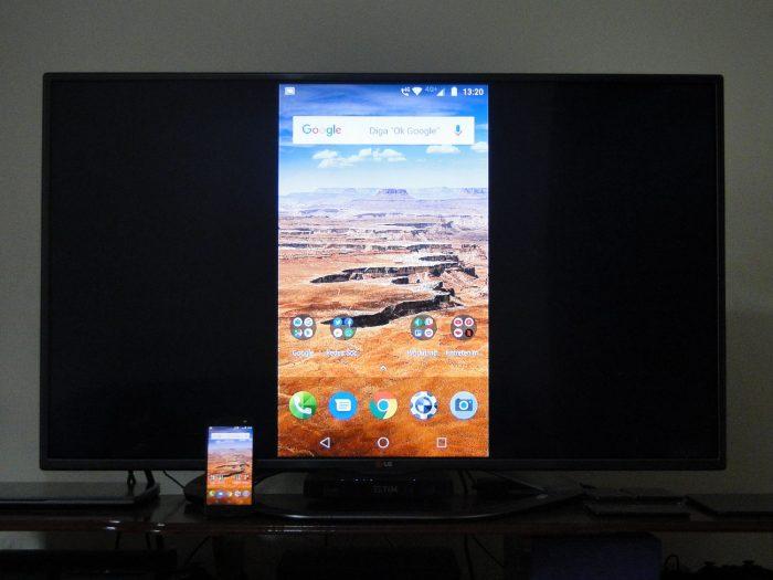 Android / espelhamento / como conectar o celular na tv