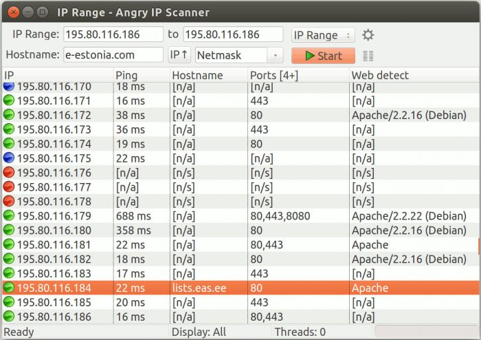 Angry IP Scanner / Linux / Como saber quem está usando o seu Wi-Fi