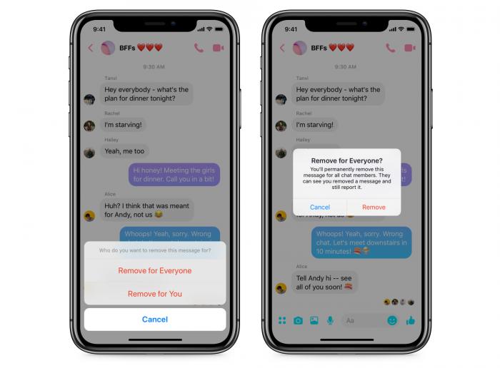 Facebook Messenger Começa A Liberar Recurso Para Apagar Mensagens