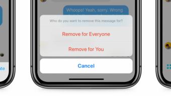Facebook Messenger começa a liberar recurso para apagar mensagens enviadas