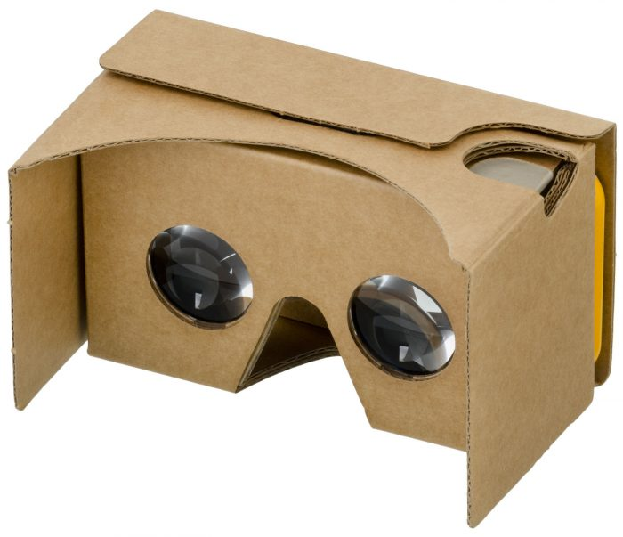 Google Cardboard / óculos de realidade virtual para celular