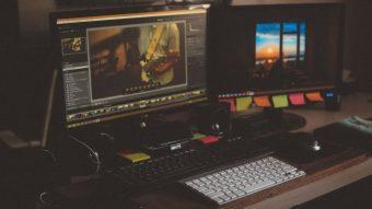 Como editar vídeos feitos com fotos e uma música à sua escolha