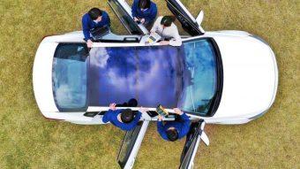 Hyundai e Kia vão colocar painéis solares no teto e capô de seus carros