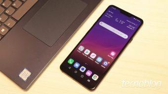 LG G7 ThinQ sofre com bootloop após atualização de software