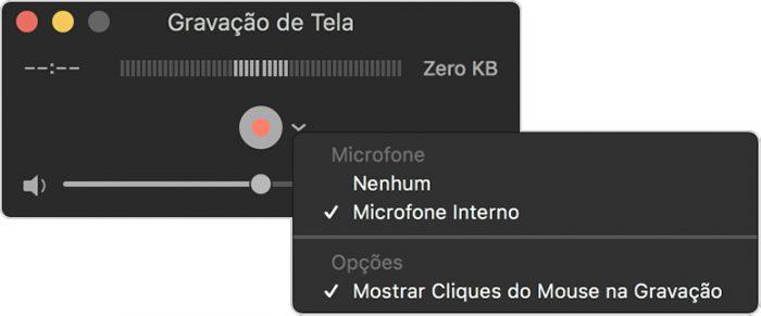 macOS / QuickTime Player / aplicativos para gravar a tela do pc e do mac