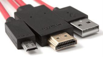 Como conectar o celular à TV pelo cabo HDMI [MHL e SlimPort]