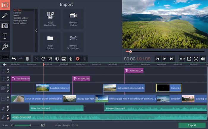 Movavi / macOS / aplicativos para gravar a tela do pc e do mac