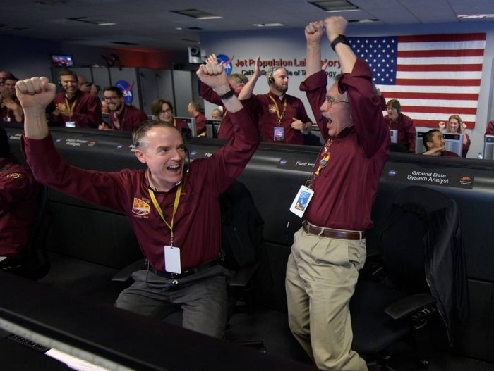 NASA comemora