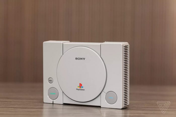 PlayStation Classic (Foto: The Verge)