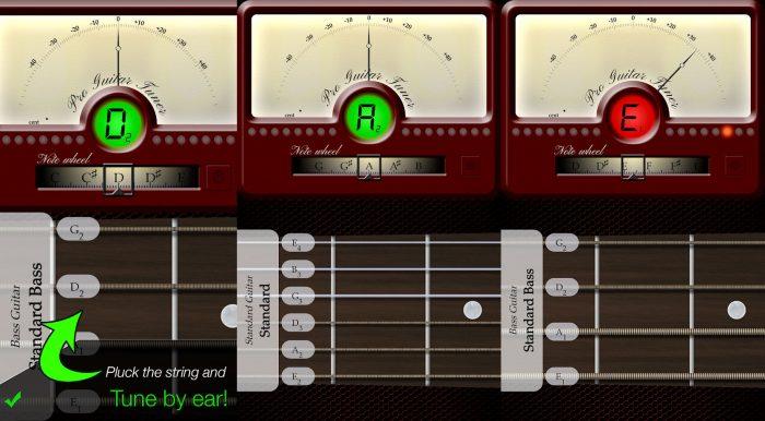 Pro Guitar Tuner / afinador de guitarra