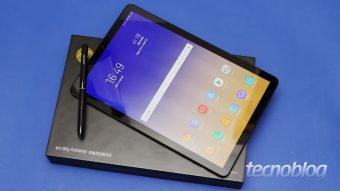 Samsung Galaxy Tab S4: o que era bom ficou melhor (e mais caro)