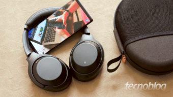 Sony WH-1000XM3: só dá para ouvir a música