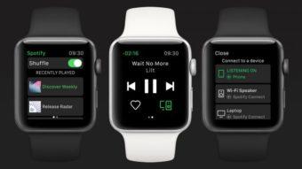 Spotify enfim chega ao Apple Watch, mas sem músicas offline