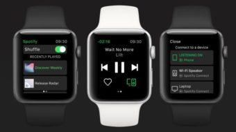 Como baixar músicas do Spotify no Apple Watch e ouvir offline